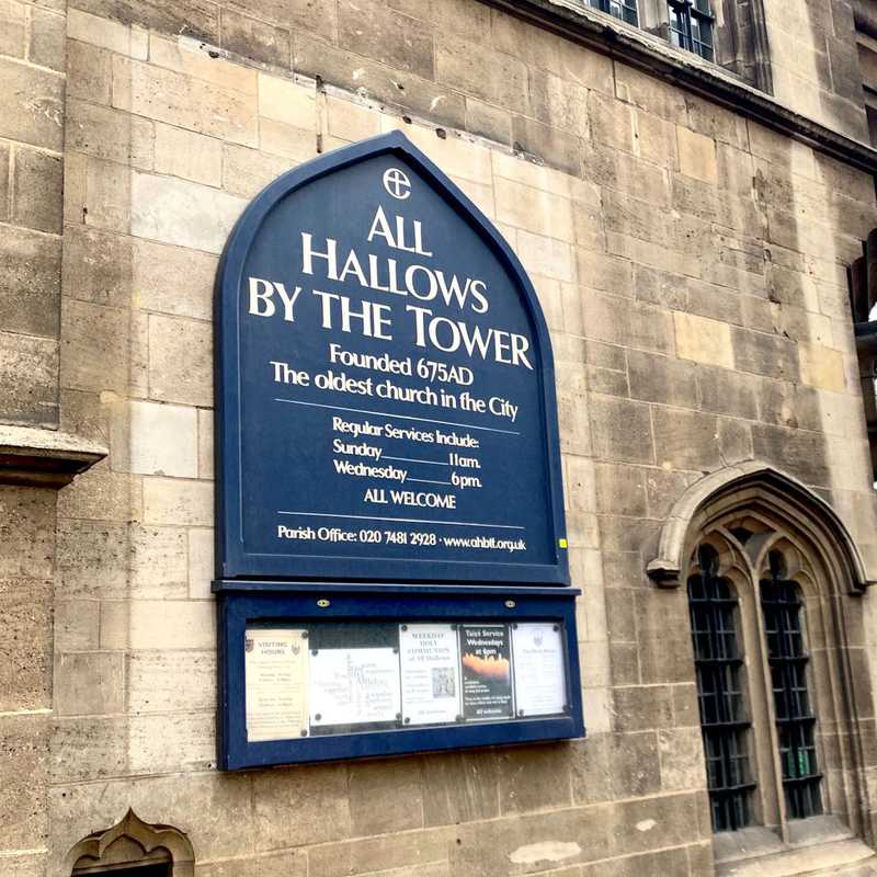 All Hallows by Tower Church