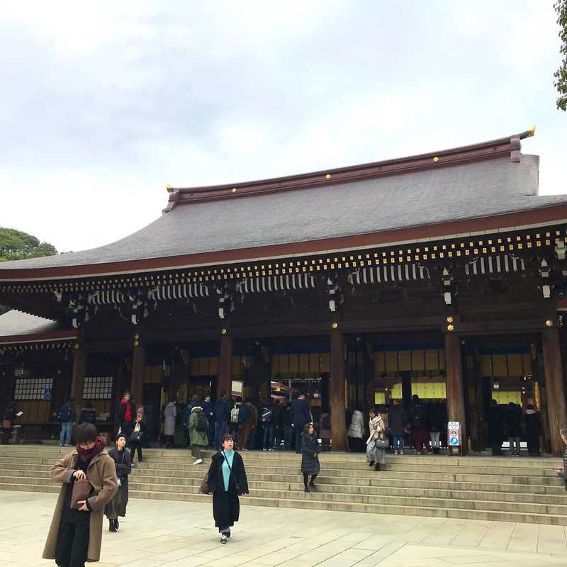 Sunday Stroll at Meiji-Jingu