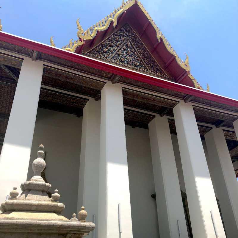 Wat Pho (Reclining Buddha Statue)
