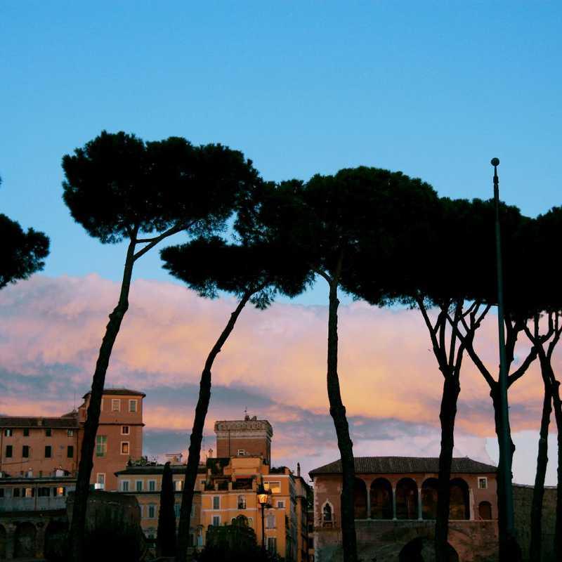 Evening Walk around Rome