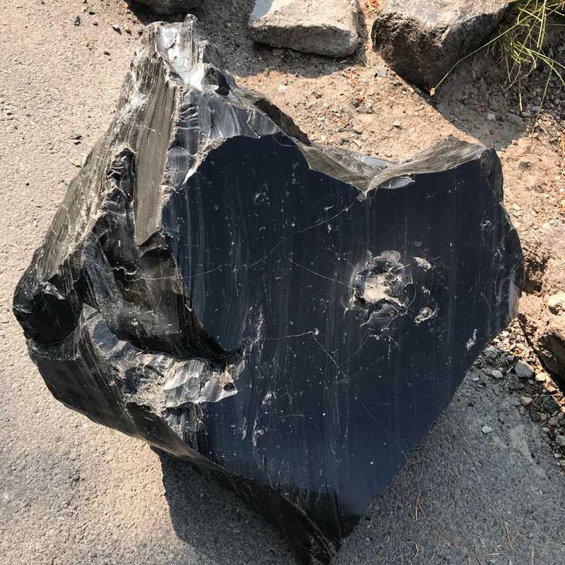 Big Obsidian Flow Trailhead and Interpretive Site