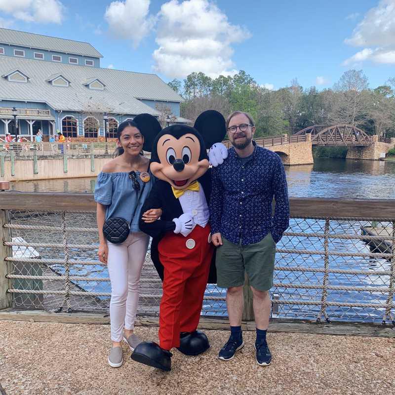 Disney's Port Orleans Resort - Riverside Bus Stop West