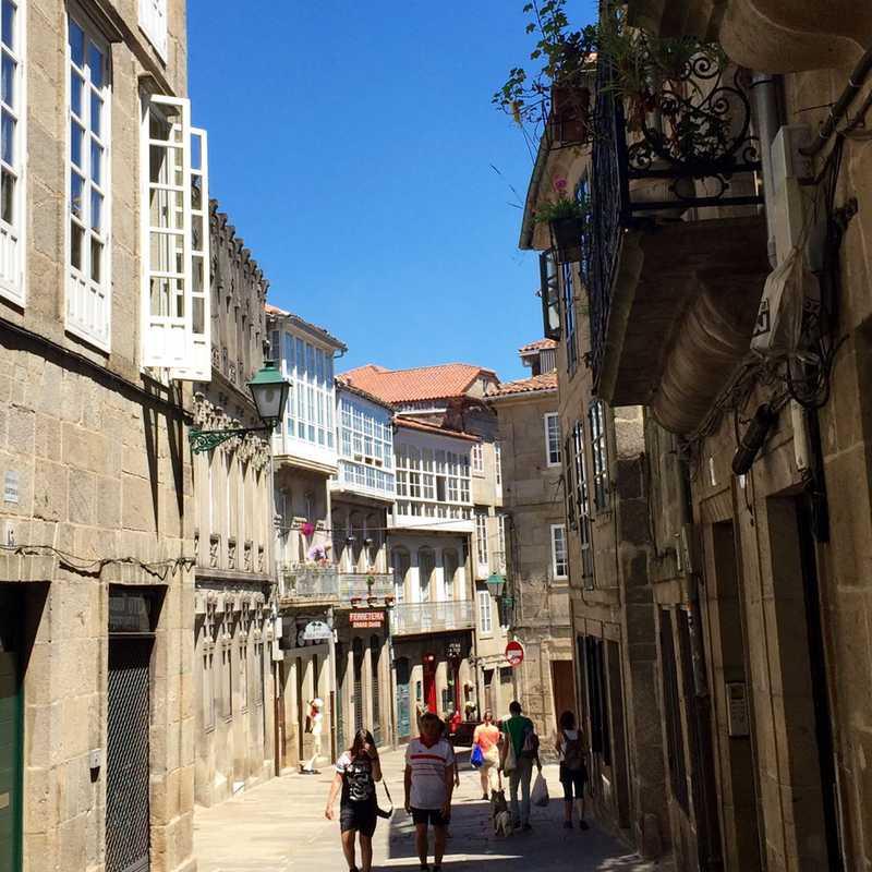 Casco histórico (Santiago de Compostela)