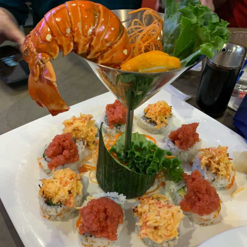 Dinner at Sky Thai Sushi