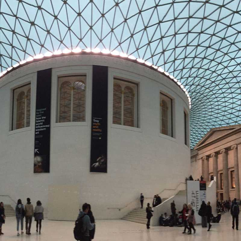 Place / Tourist Attraction: The British Museum (London, United Kingdom)