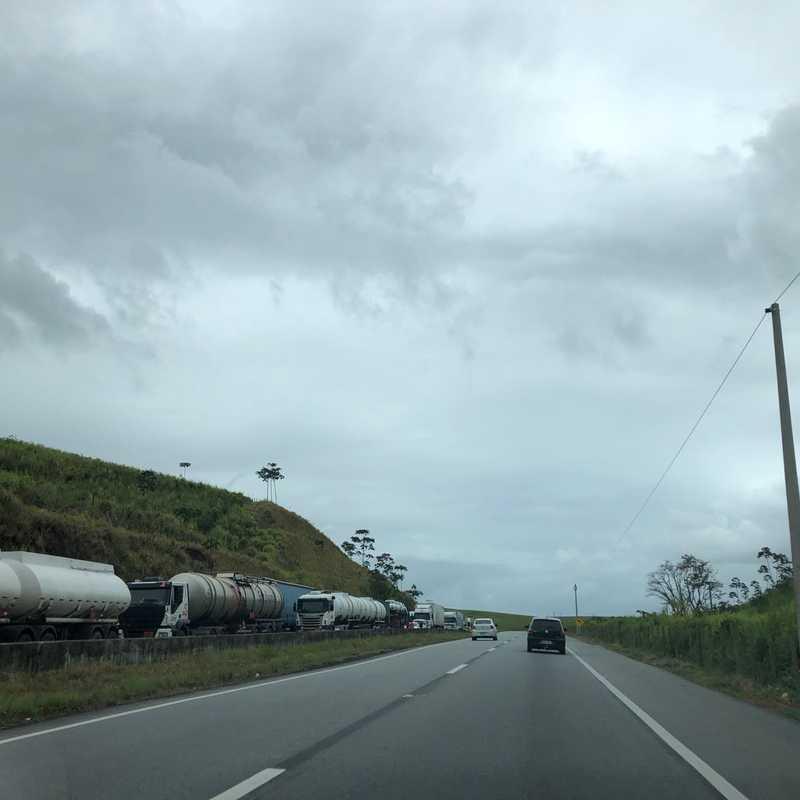 Rodovia BR-101 próximo a Flexeiras-AL