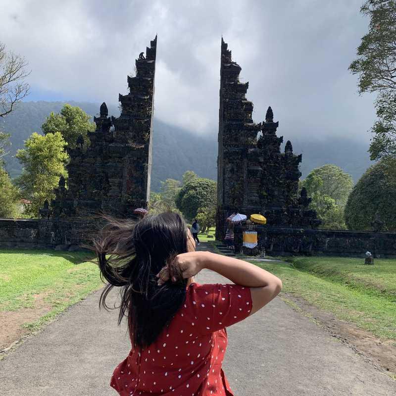 Place / Tourist Attraction: Bali Handara Gate (Buleleng Regency, Indonesia)
