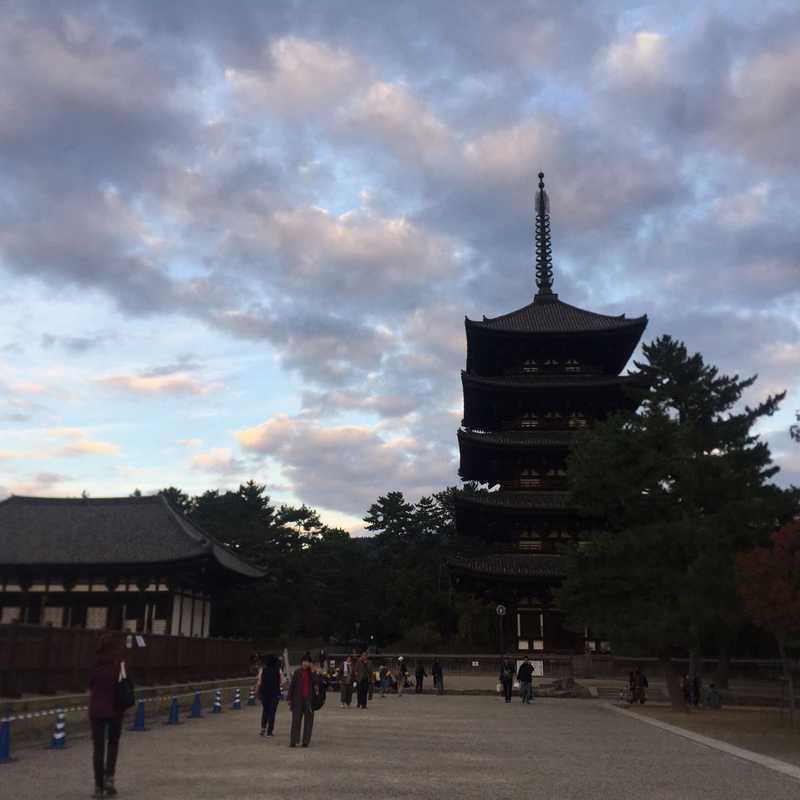 Nara, Japan Nov-2018   1 day trip itinerary, map & gallery