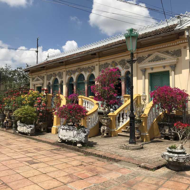 VIETNAM FAMOUS SADEC ANCIENT HOUSE 2018