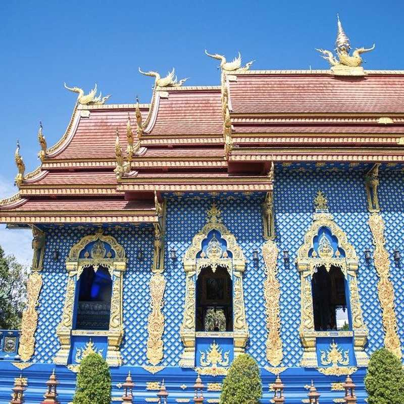 The Blue Temple Chiang Rai