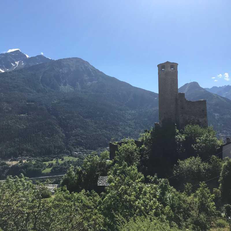 Châtelard Castle, Aosta Valley