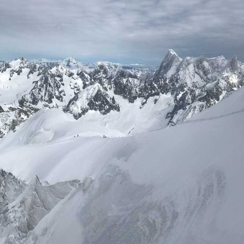 Ride the Cable Car up Chamonix