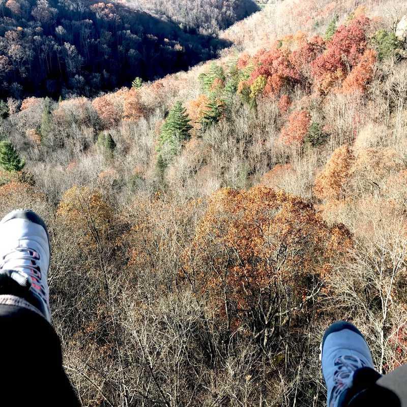 Auxier Ridge Trailhead