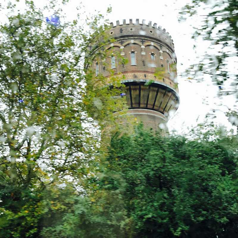 On the way to Delft city centre