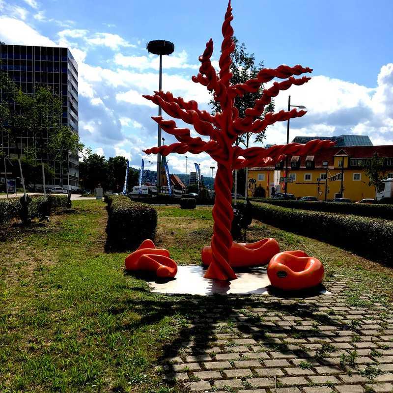 Skulptur Stuttgart 21