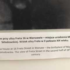 Maria Skłodowska-Curie Museum