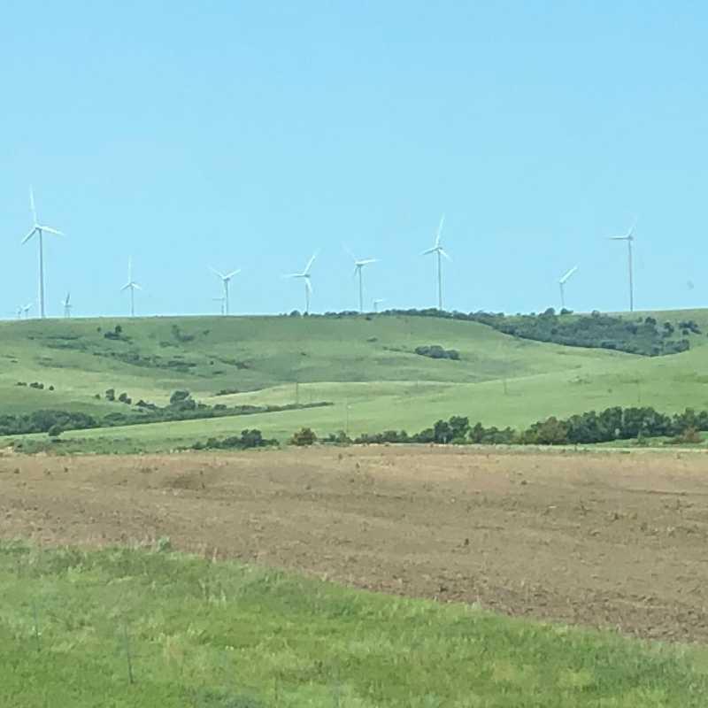 Prairie Windmills