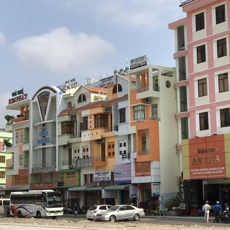 Nhà Hàng Cánh Buồm Hà Tiên.
