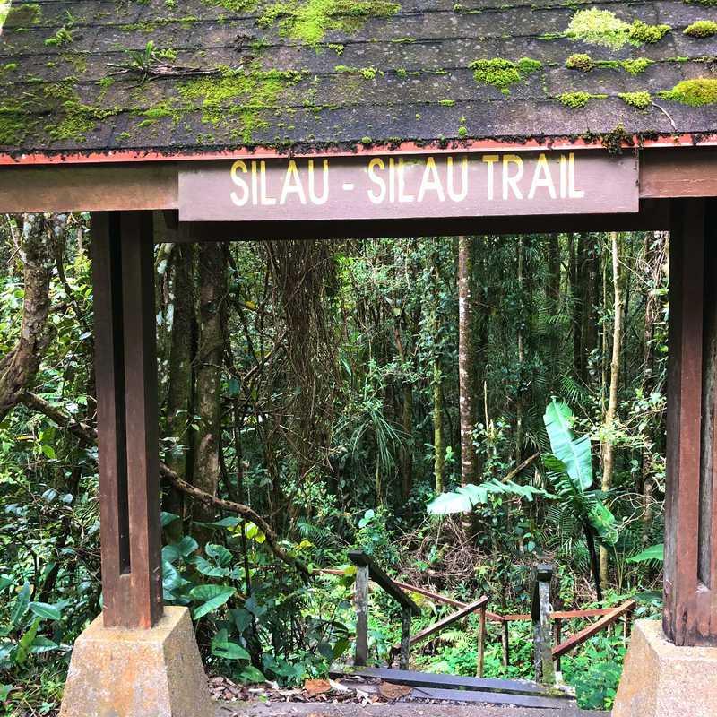 Kinabalu Park Entrance, Ranau, Sabah.