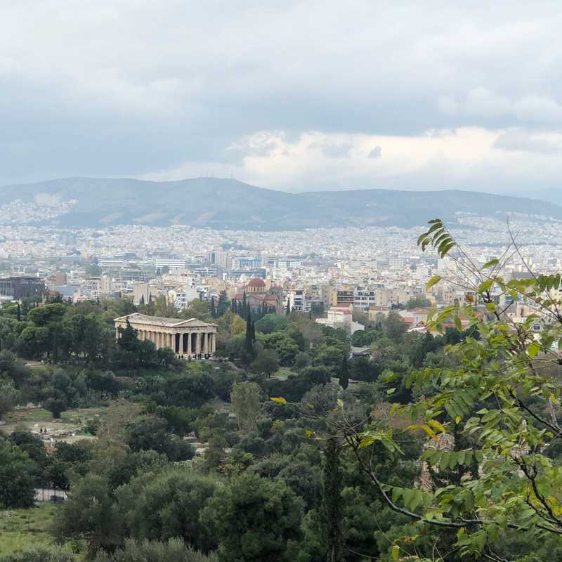 Athens 2018   2 days trip itinerary, map & gallery