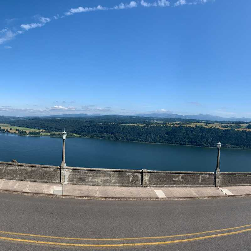Columbia Gorge - view point