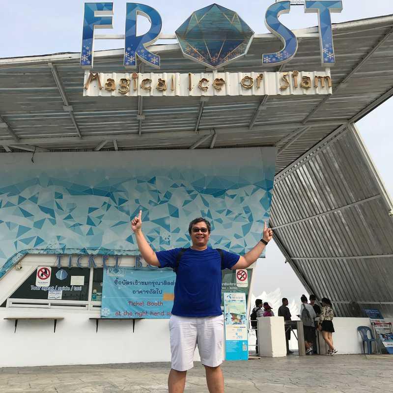 FROST Magic of siam   เมืองน้ำแข็ง พัทยา
