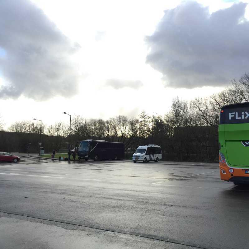 Flixbus bus stop