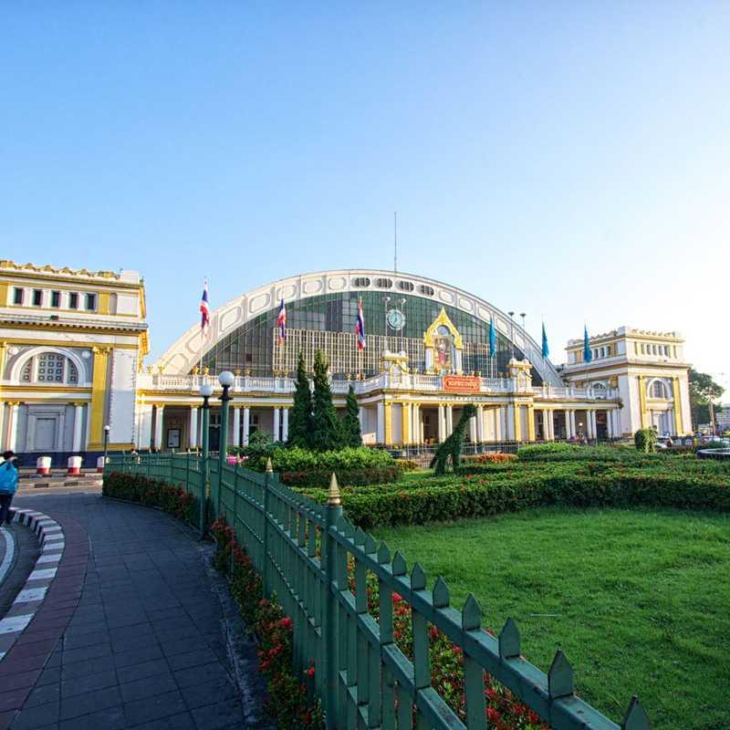 Hua Lamphong Railway station 3