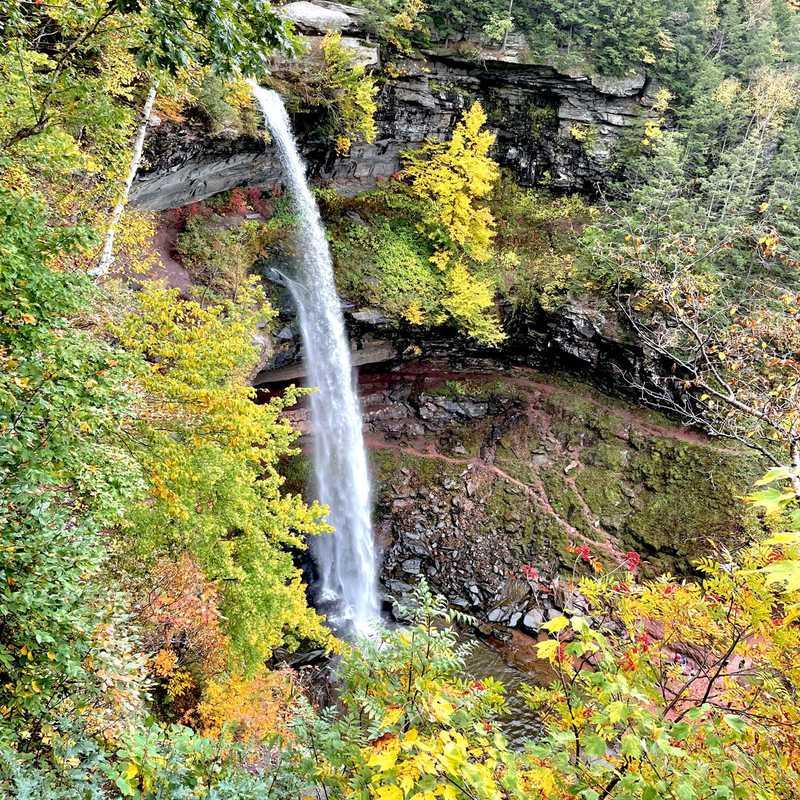 Trip Blog Post by @veraluna: Jewett & Kaaterskill Falls 2021 | 4 days in Oct (itinerary, map & gallery)