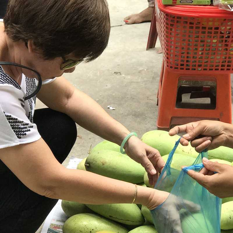 Mekong Delta - Non-touristic Village