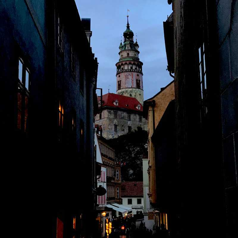 Zámecká věž Český Krumlov