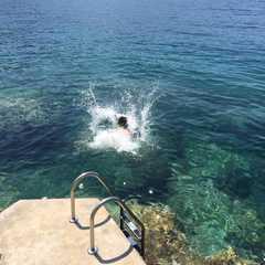 take a dip in the ocean