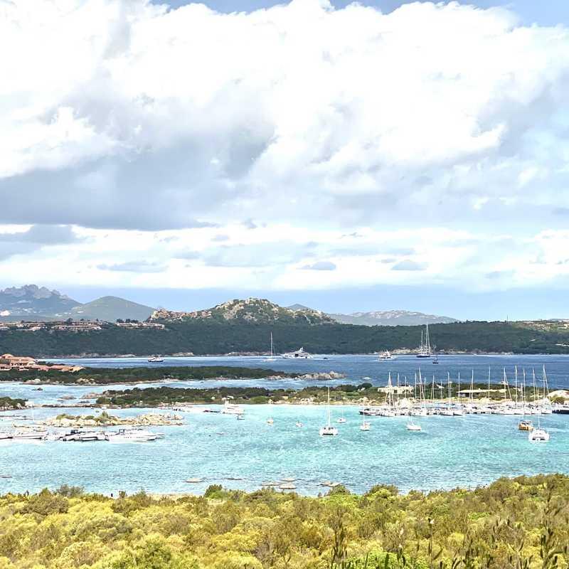 Panorama sul Golfo di Marinella