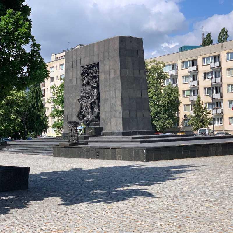 Pomnik Bohaterów Warszawskiego Getta