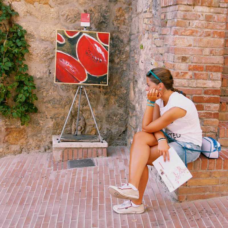 Walk around San Gimignano