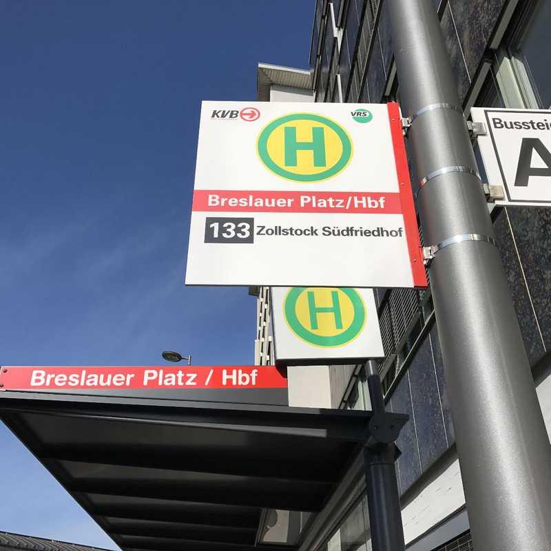 Köln Hbf/ Breslauer Platz