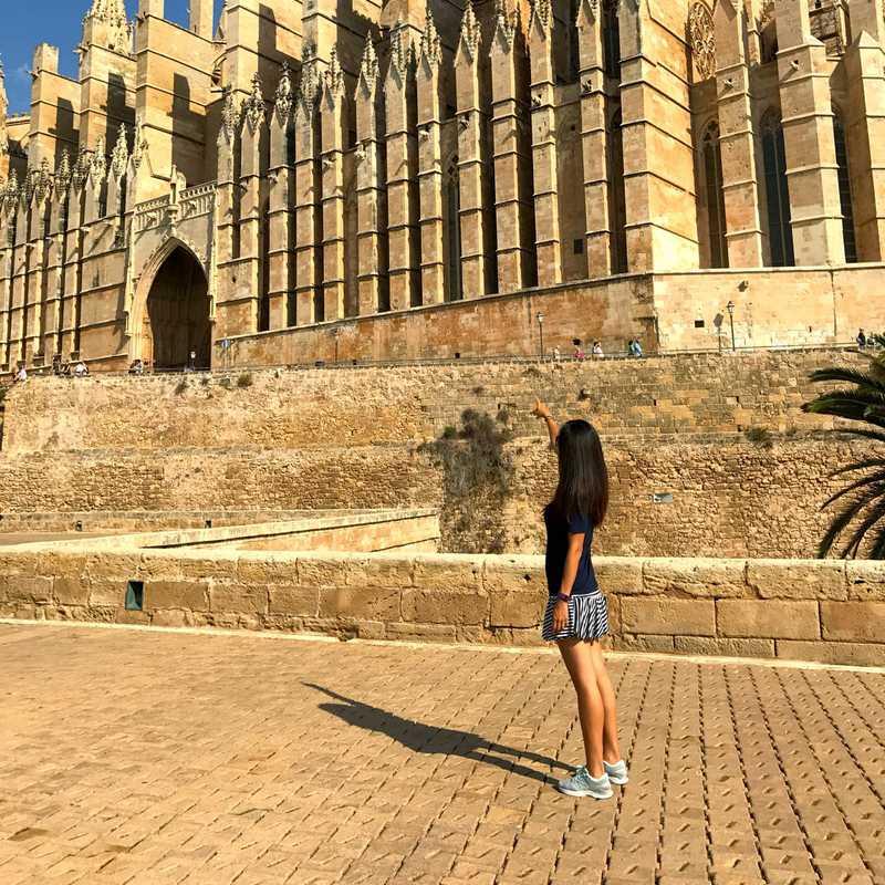 The Cathedral of Santa Maria of Palma (La Seu)