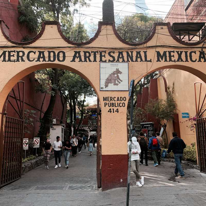 Mercado Artesanal mexicano