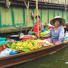 Floating Market Boarding Place