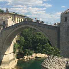 an unobstructed view of the Old Bridge