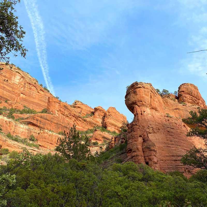 Fay Canyon Trail End