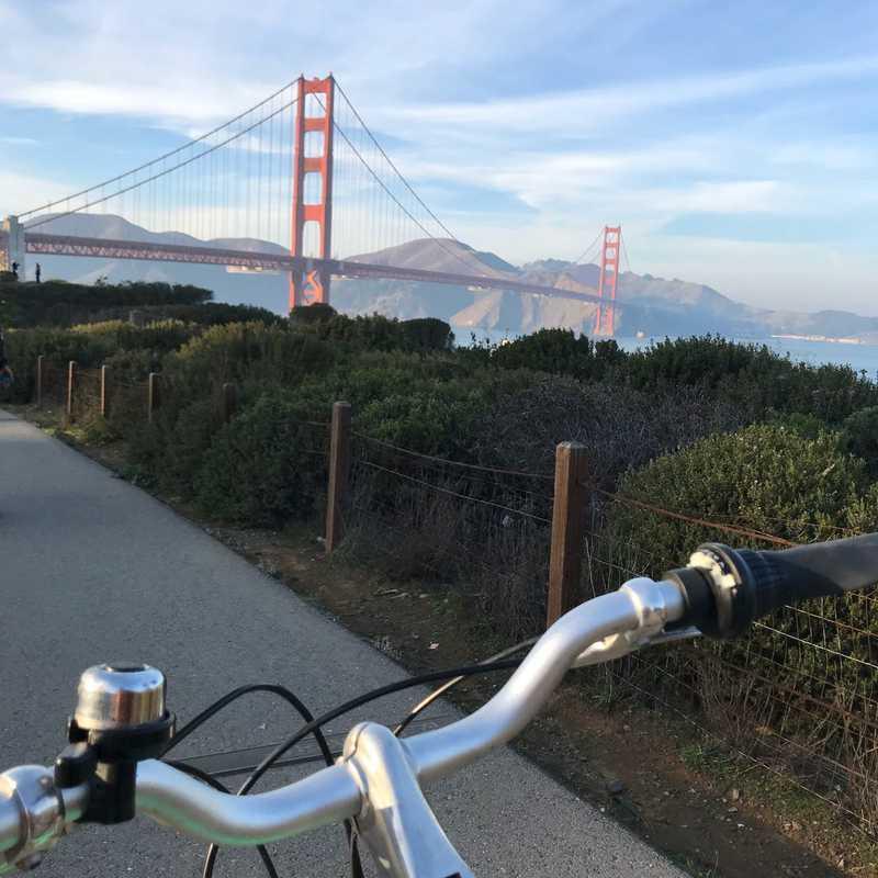 Golden Gate Bridge Main Span