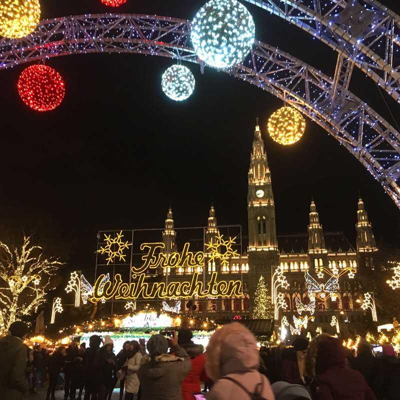 Place / Tourist Attraction: Vienna City Hall (Vienna, Austria)