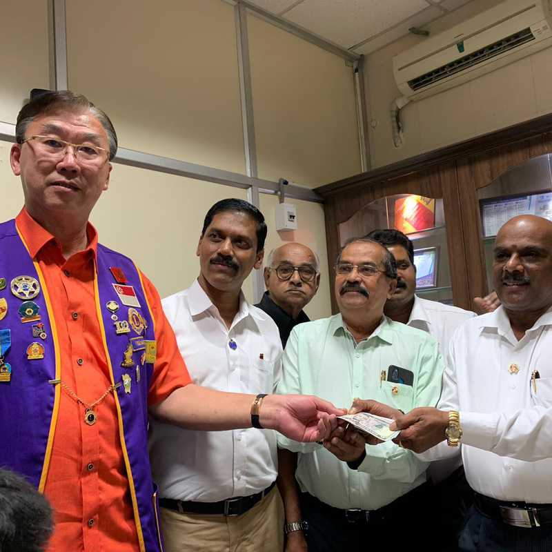 Lions Club of Madras Residency Hospital