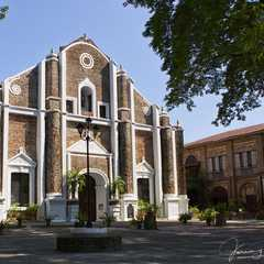 The Earthquake Baroque and Neoclassical Santa Monica Parish Church in Sarrat, Ilocos Norte