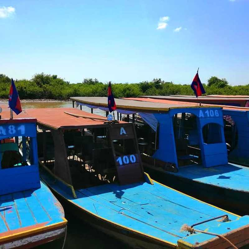 Kampong Phluk Floating Village