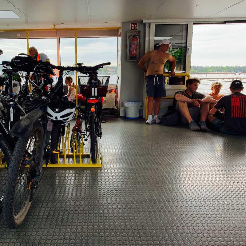 Wansee -> Kladow Ferry Ride