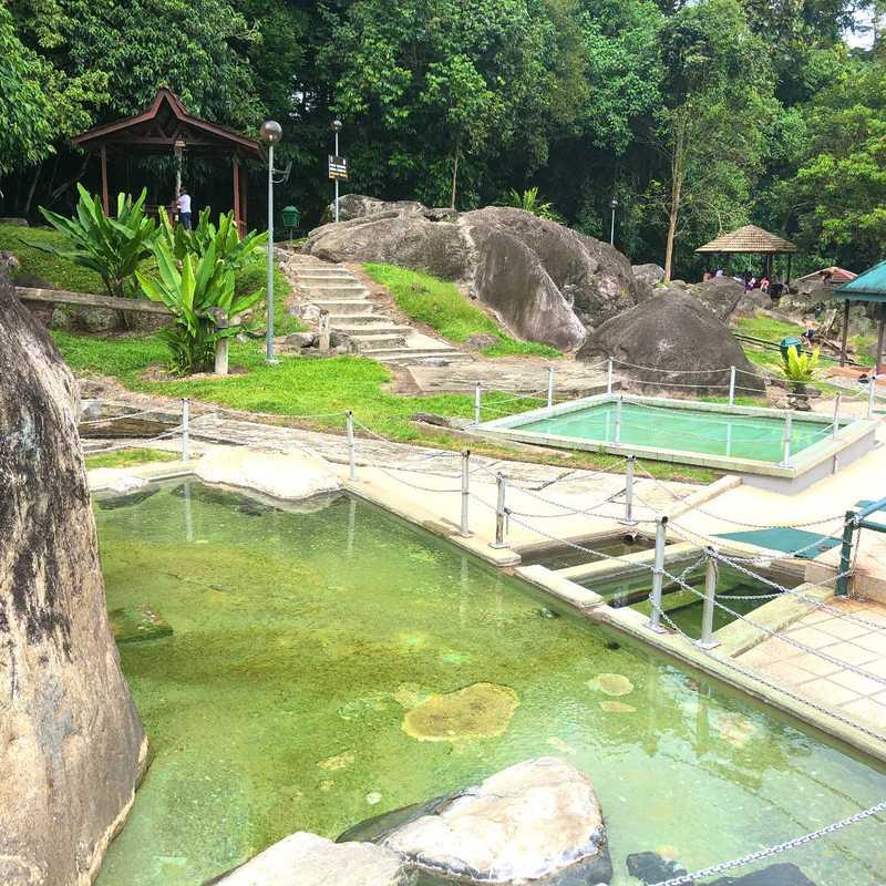 Poring Hot Spring, Ranau, Sabah.