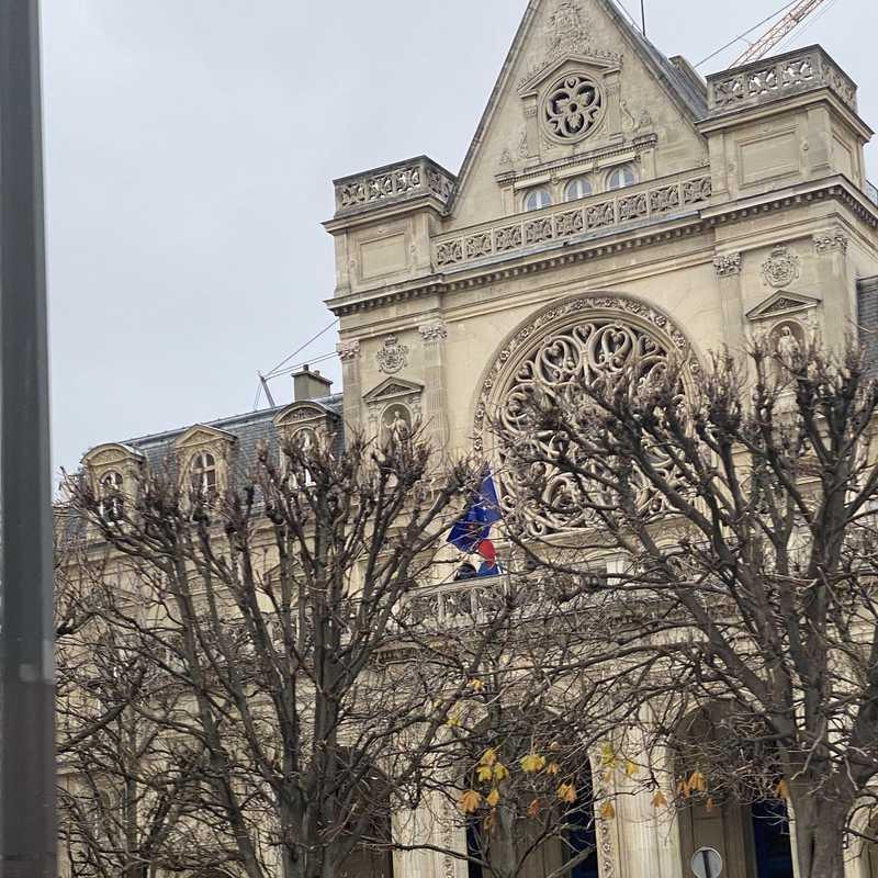 Beffroi de l'église Saint-Germain-l'Auxerrois de Paris