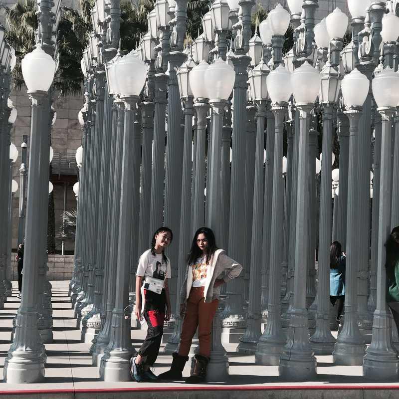 "Public Art ""Urban Light"""
